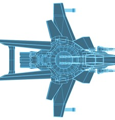 Star Citizen Hornet blueprint
