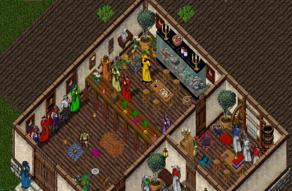 With thanks to Brad for the classic Ultima Online pic