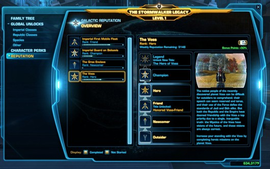 swtor galactic rep system detailed