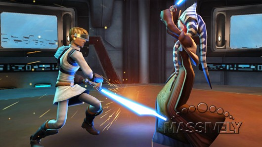 Clone Wars Adventures - Dueling Shaak Ti