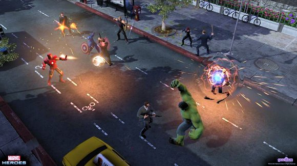 Handson with Marvel Heroes' combat and crafting
