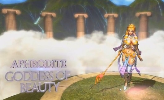 Aphrodite joins the SMITE fight crew