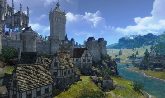 ArcheAge human city