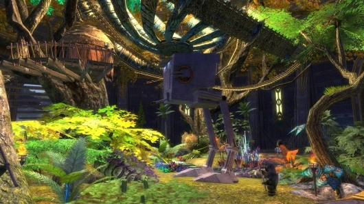 RIFT guild creates Star Wars tableau