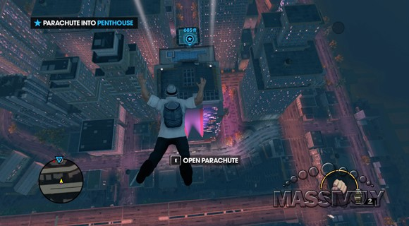 Saints Row The Third - Basejumping
