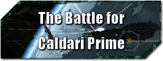 EVE Evolved The Battle for Caldari Prime