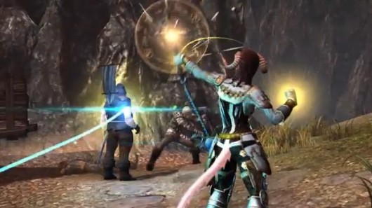 Neverwinter's Devoted Cleric in action