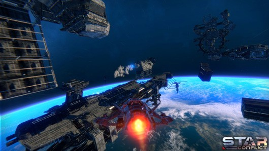Star Conflict launches on Steam