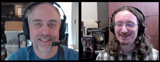 Richard Garriott and Matt Barton