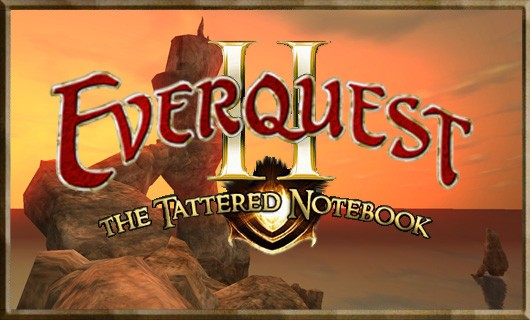 The Tattered Notebook  Attacked by AAs in EQII