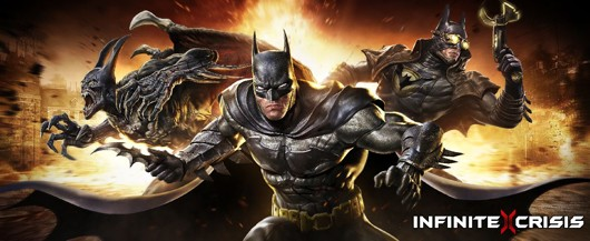 Infinite Crisis Batman art