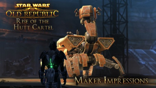 A day with the SWTOR expansion Rise of the Hutt Cartel