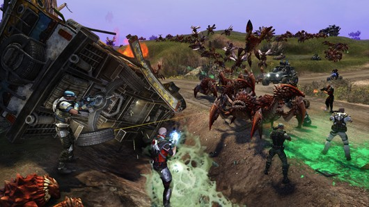Trion hopes you'll preorder some Defiance DLC along with your Defiance preorder