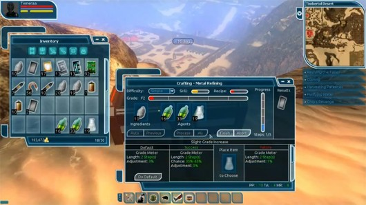 The Repopulation's UI reminds me of SWG and I like it