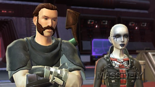 Star Wars: The Old Republic - Imperial Agent is not amused