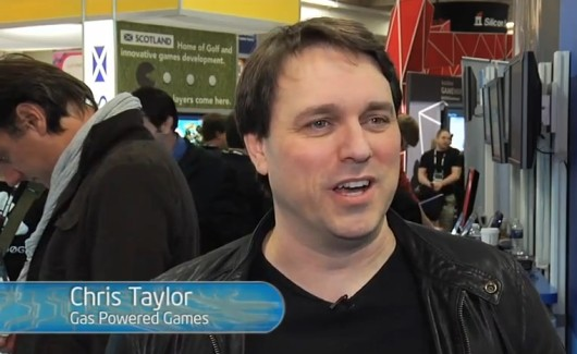 GDC 2013 Catching up with Gas Powered Games' Chris Taylor