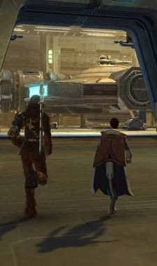 SWTOR - To the ship!