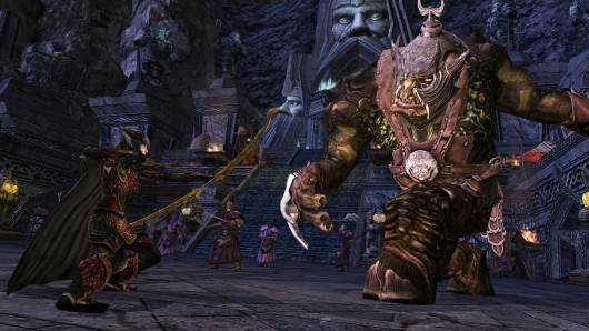 LotRO's Update 10 springs into action