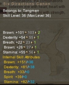 The Art of Wushu The right stats for each style