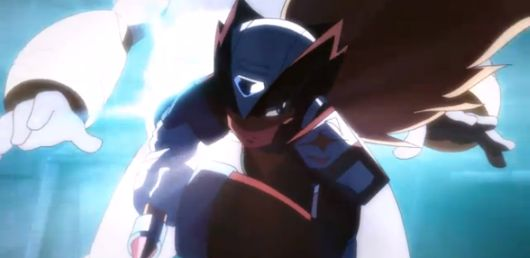 Screencap -- Mega Man Online trailer
