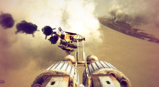 First Guns of Icarus Online adventure mode Kickstarter goal funded