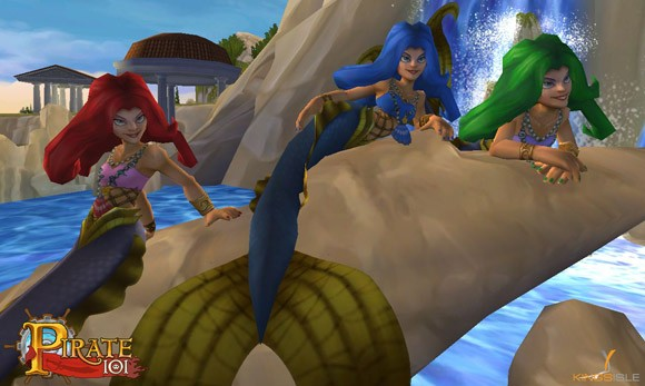 Pirate101 mermaids