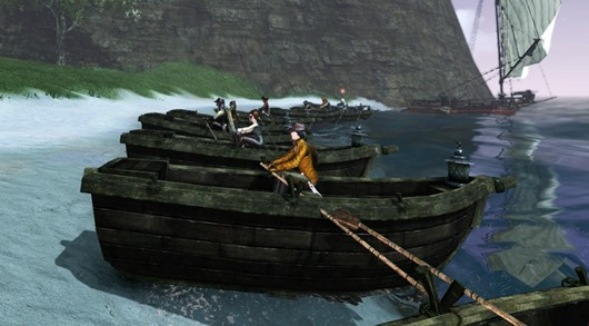 ArcheAge rowboat race