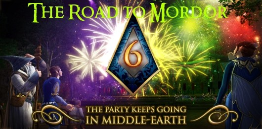 The Road to Mordor Happy 6th birthday, LotRO!