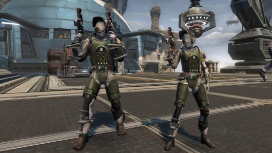 SWTOR reloads Bounty Hunters and Troopers
