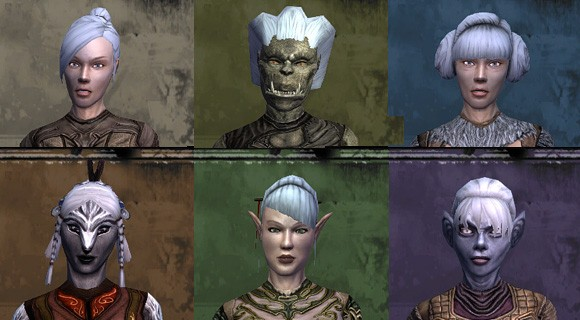 Images of Darkfall races