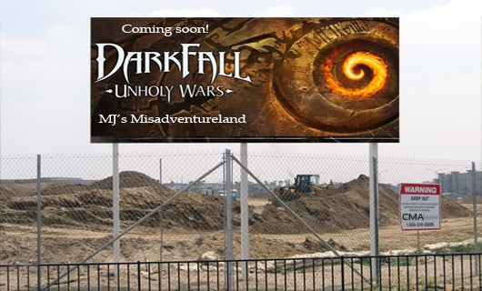 Choose My Adventure  Pouring the foundation in Darkfall