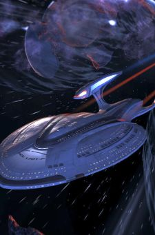 I feel a stirring at the sight of the new Enterprise.  That's a good thing, I hope.