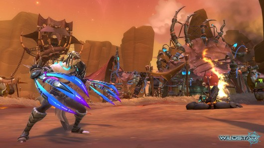 WildStar's Crimson Isle detailed