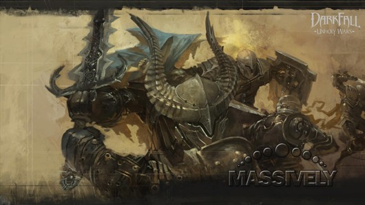 Darkfall Unholy Wars loading screen art