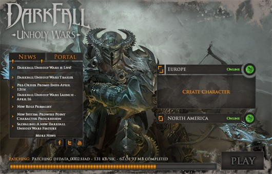 Darkfall Unholy Wars patcher