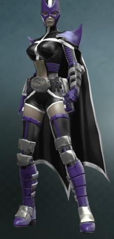 The male version has pants and a covered midriff.  So that's awesome.