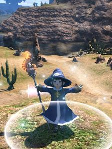 ffxiv moglog betacombat 1 epl 425 Final Fantasy XIV beta phase 1 and 2   combat
