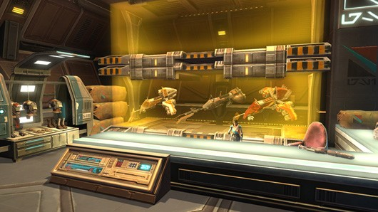 SWTOR dev blog details new GSI faction