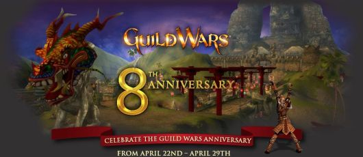 Guild Wars announces 8th anniversary event