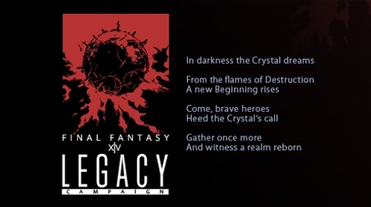 Final Fantasy XIV invites legacy members to get their names in the credits
