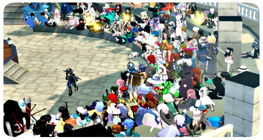 Mabinogi live event screenshot