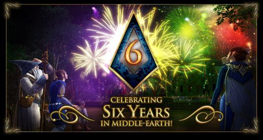 LotRO awards dedicated players for the game's sicth anniversary