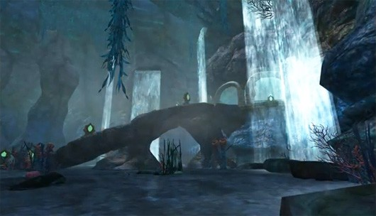 The lure of Sirens Grotto highlighted in EverQuest II video