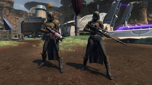 SWTOR brings Smugglers and Imperial Agents up to date