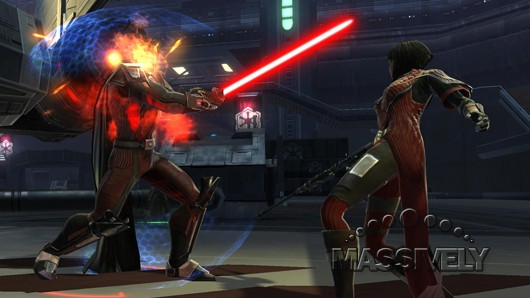 Star Wars: The Old Republic - Boss fight with Risha