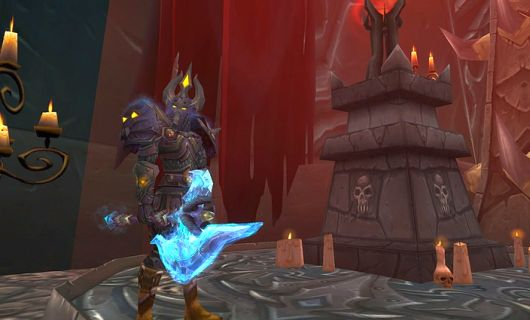 You, too, can experience being a blood elf death knight like every other death knight.