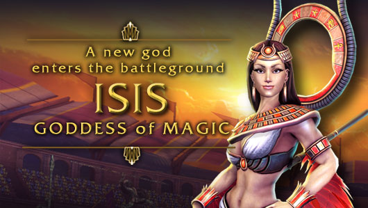 HiRez reveals SMITE's Isis, the Goddess of Magic