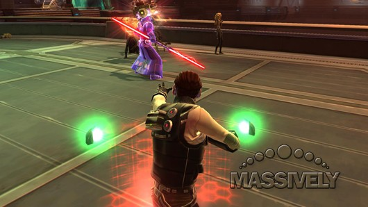 This happened in a SWTOR flashpoint