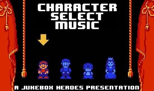Jukebox Heroes Character select music