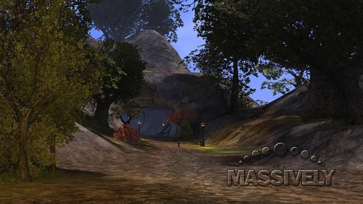 This is a road in Darkfall